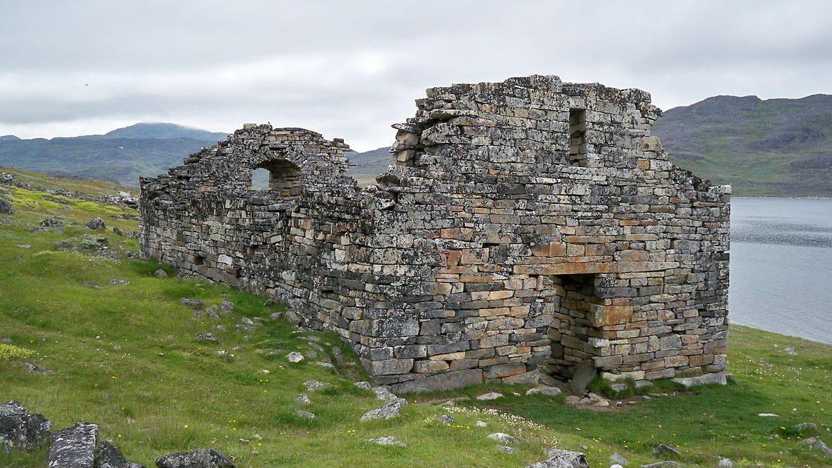 Hvalsey kyrka på Grönland