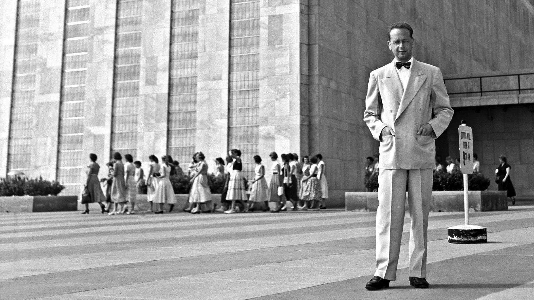 Dag Hammarskjöld - FN:s generalsekreterare 1953 till sin död 1961.