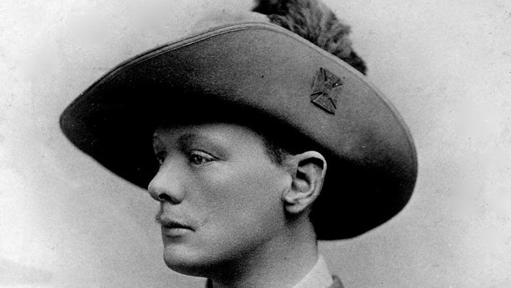 Unge WInston Churchill