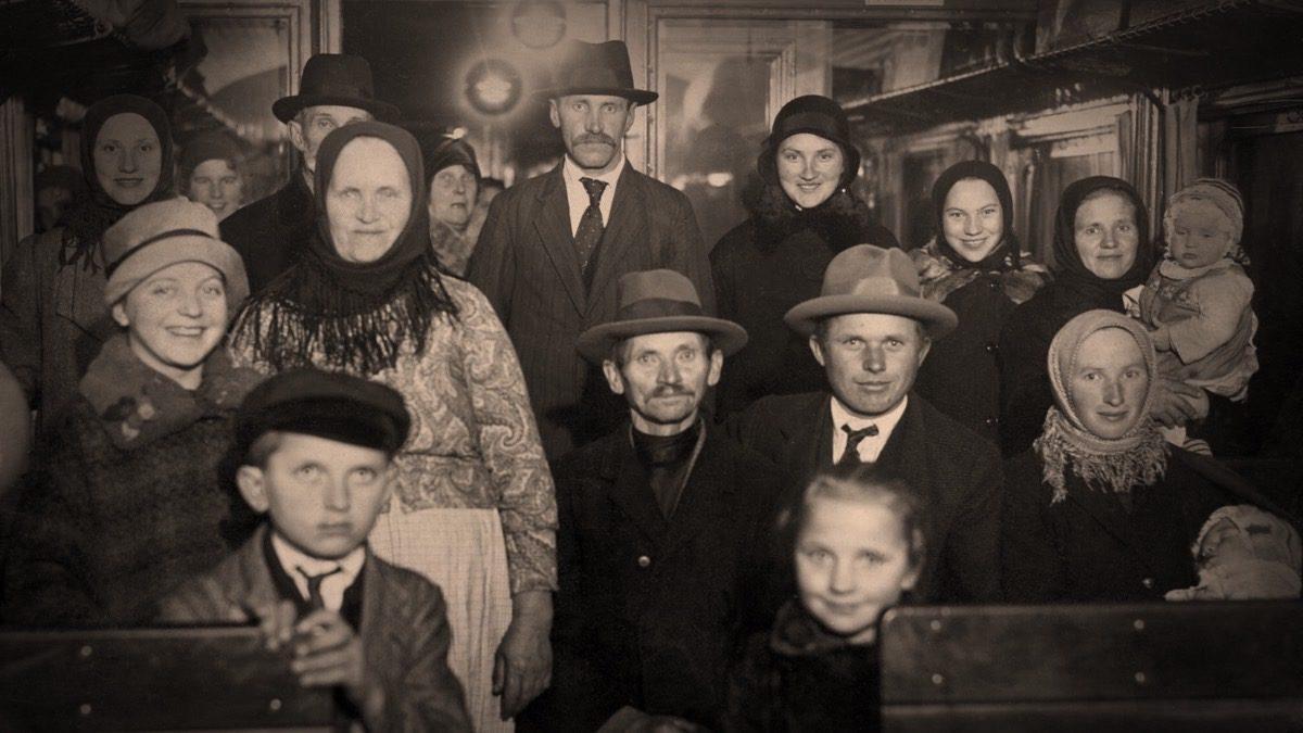 Familjen Buskas från Gammalsvenskby
