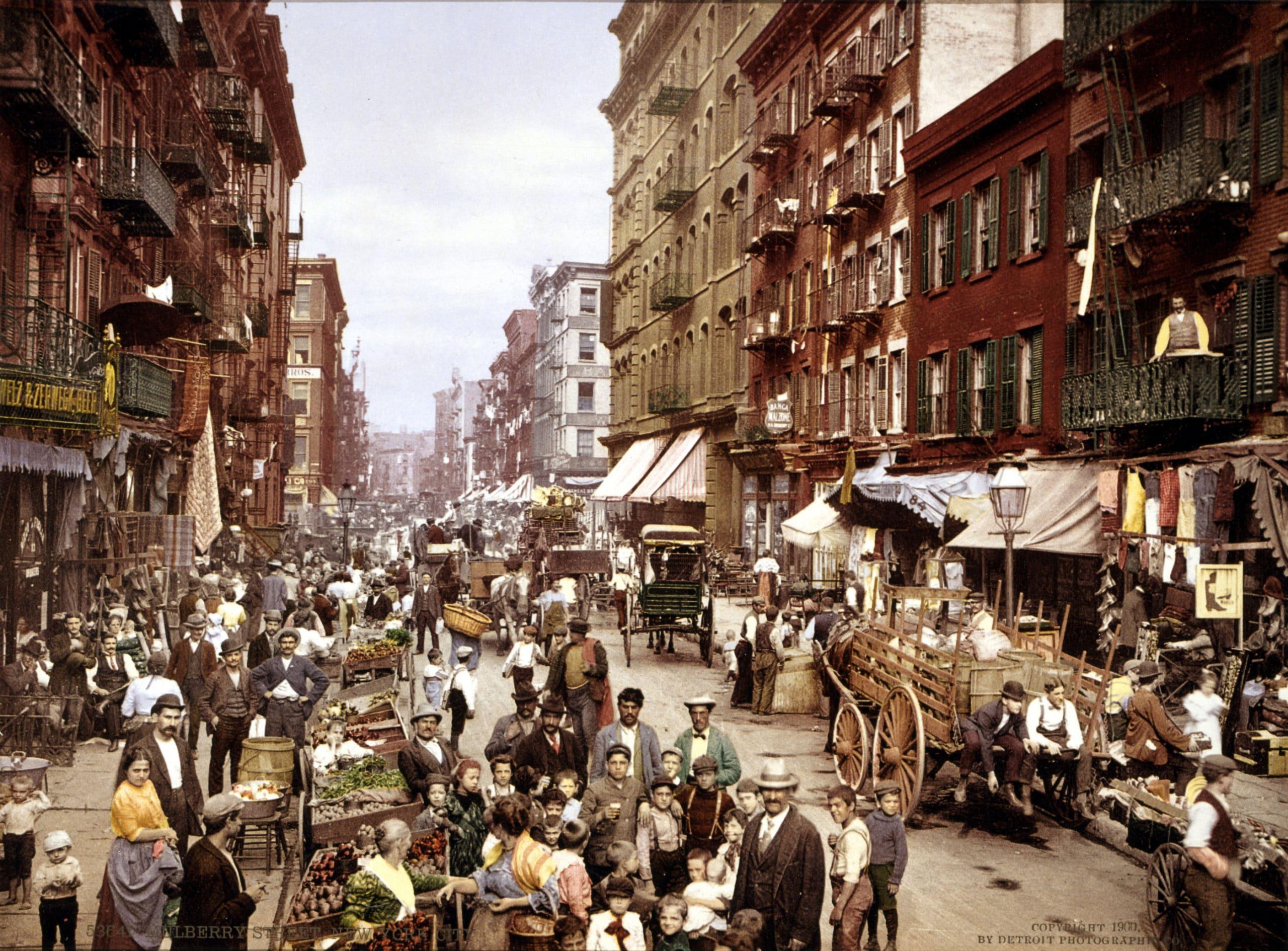 New Yorks historia