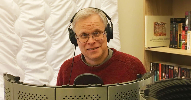Urban Lindstedt är programledare för podcasten Historia Nu.