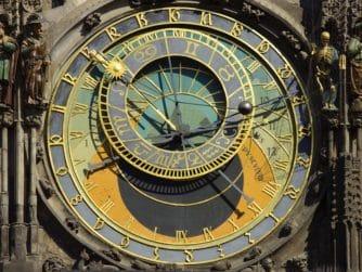 Astronomiskt ur i Prag från 1410