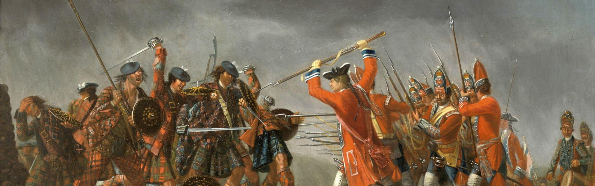 Slaget vid Culloden år 1746