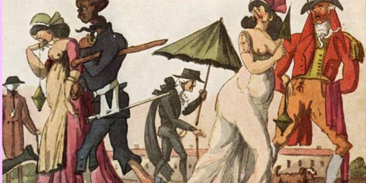 Prostitution på 1700-talet