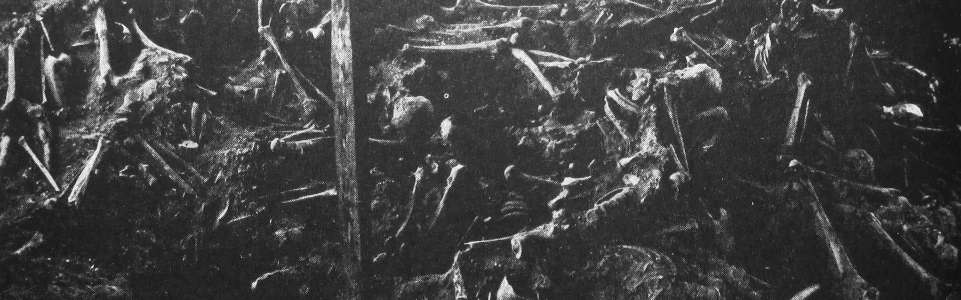 Massgravarna vid Visby
