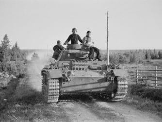 Tyska tanks vid Vasonvaara