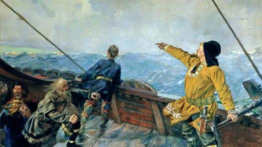 Leif Eriksson upptäcker Amerika