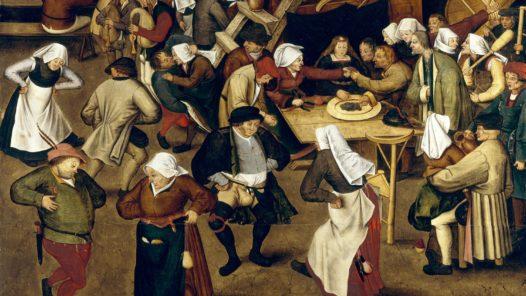 Bondbröllop i Holland 1620