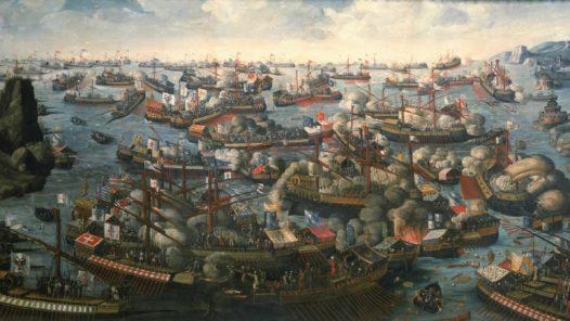 Slaget vid Lepanto år 1571