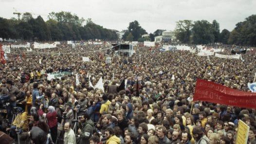 Protester mot kärnvapen