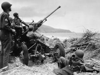 Bofors 40 mm Algeriet