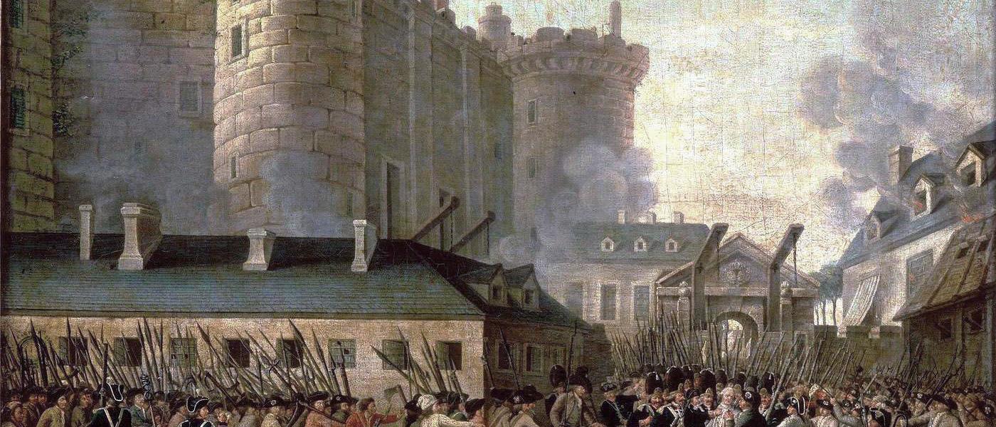 Stormningen av Bastillien 1792
