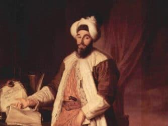Mehmed Sadi Efendi som ambassadör i Paris 1742, av Joseph Aved, Musée de Versailles